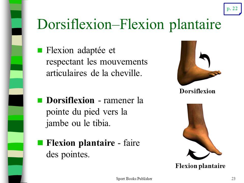 Dorsiflexion–Flexion plantaire