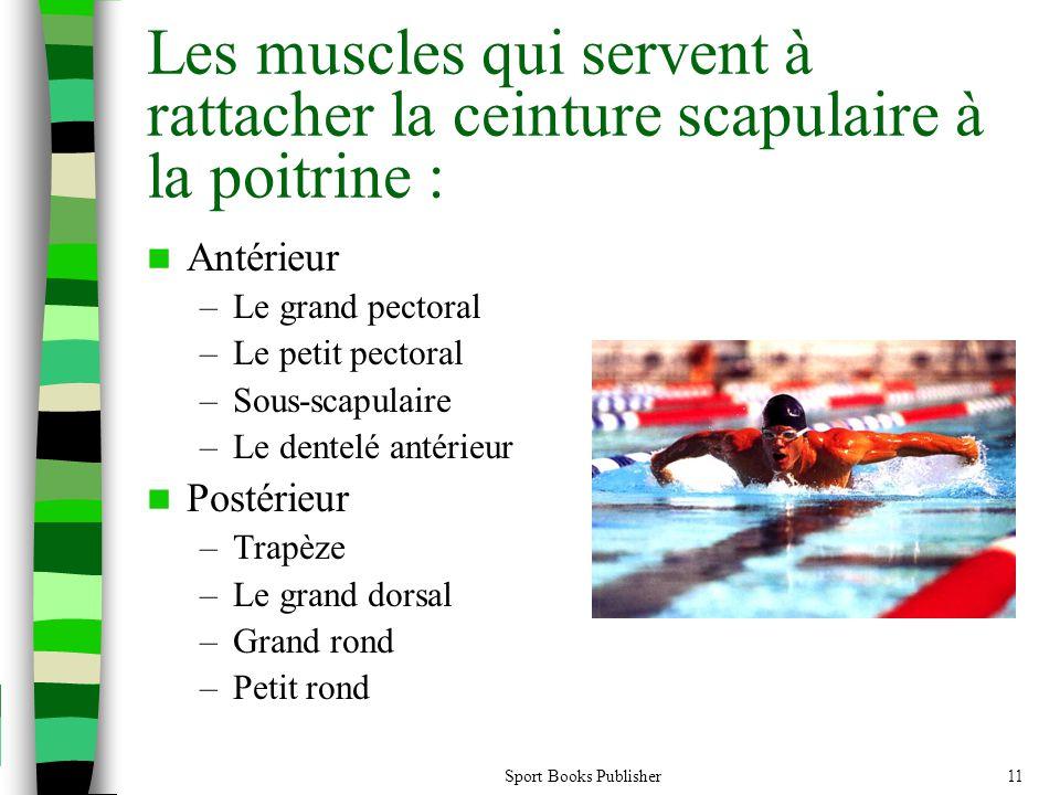 Les muscles qui servent à rattacher la ceinture scapulaire à la poitrine :