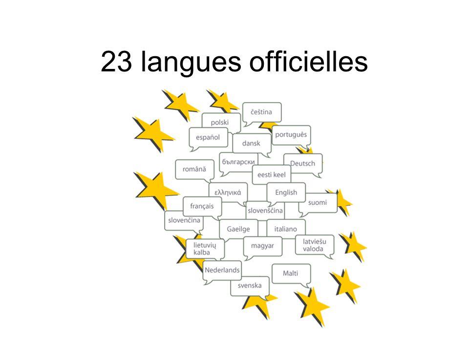 23 langues officielles 5