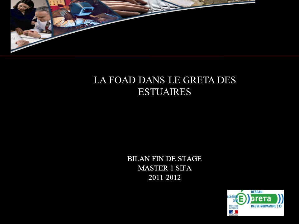 BILAN FIN DE STAGE MASTER 1 SIFA 2011-2012