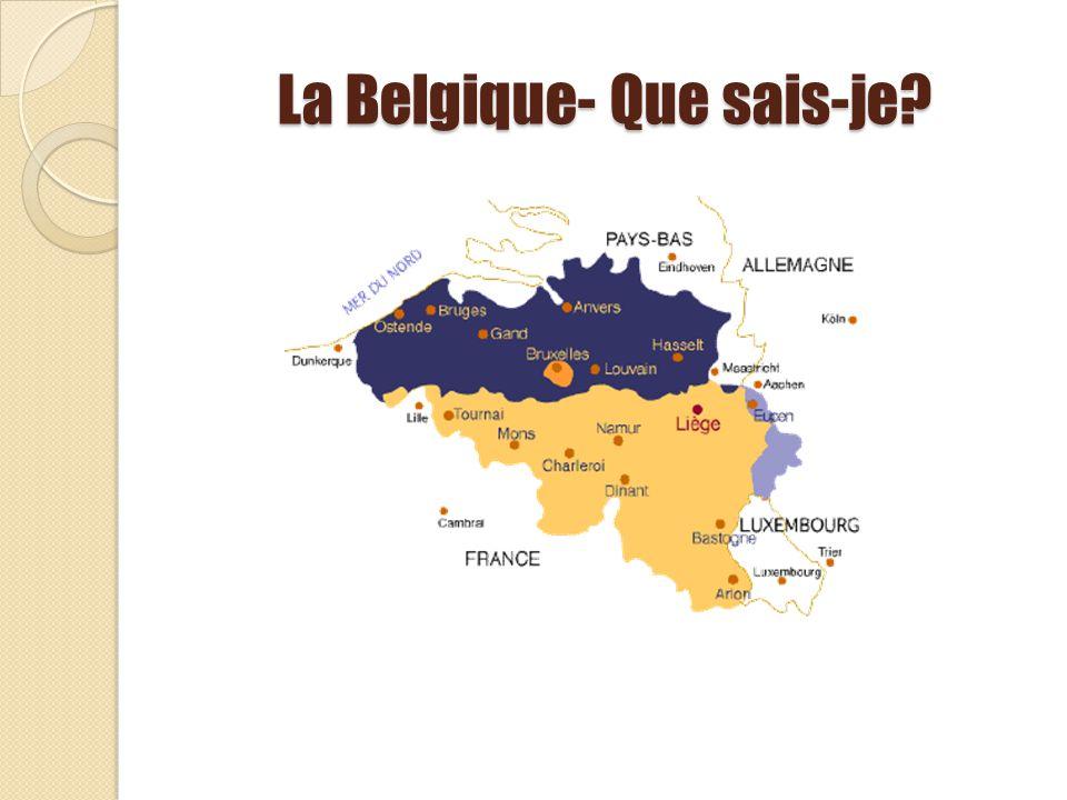 La Belgique- Que sais-je