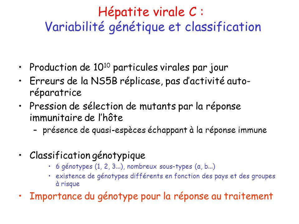 Variabilité génétique et classification