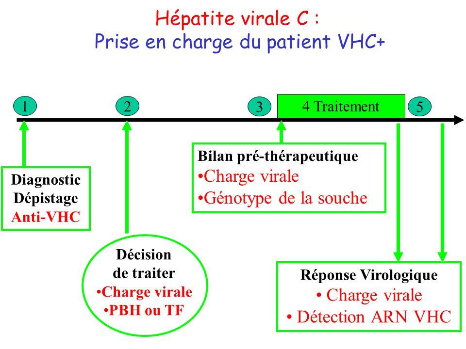 Prise en charge du patient VHC+