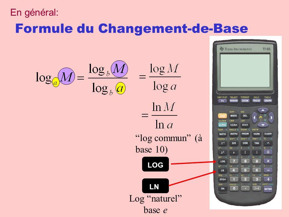 Formule du Changement-de-Base