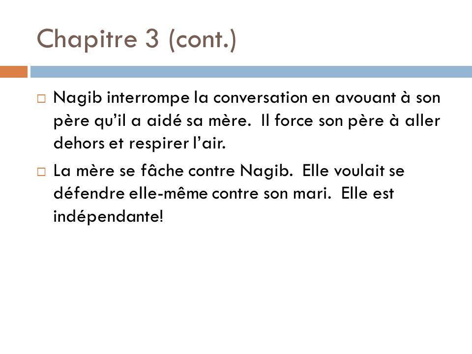 Chapitre 3 (cont.)