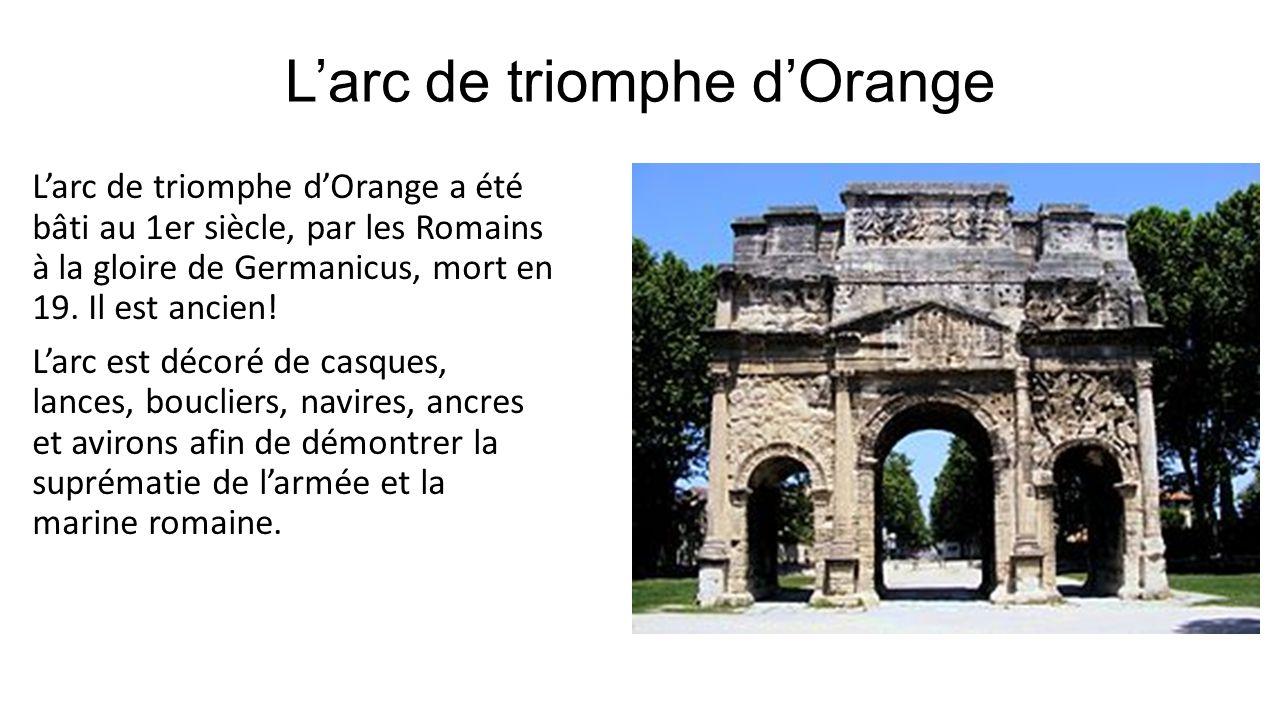 L'arc de triomphe d'Orange