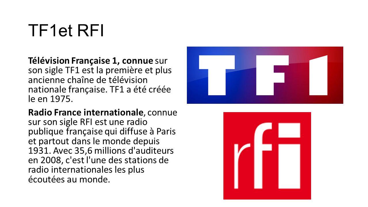 TF1et RFI