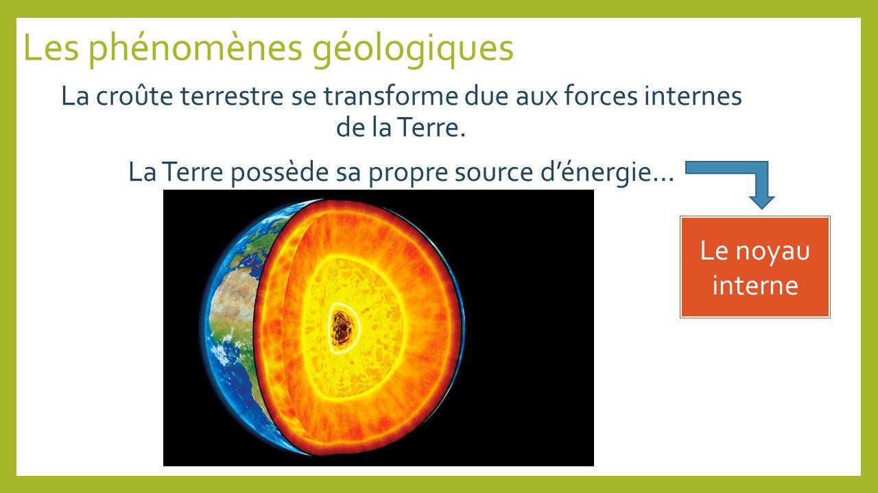 Les phénomènes géologiques