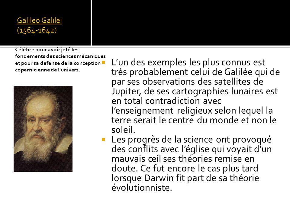 Galileo Galilei (1564-1642) Physicien et astronome italien,