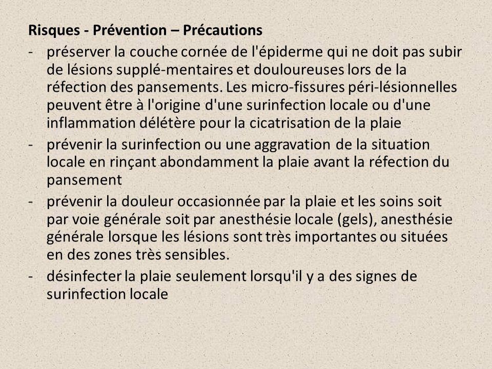 Risques - Prévention – Précautions