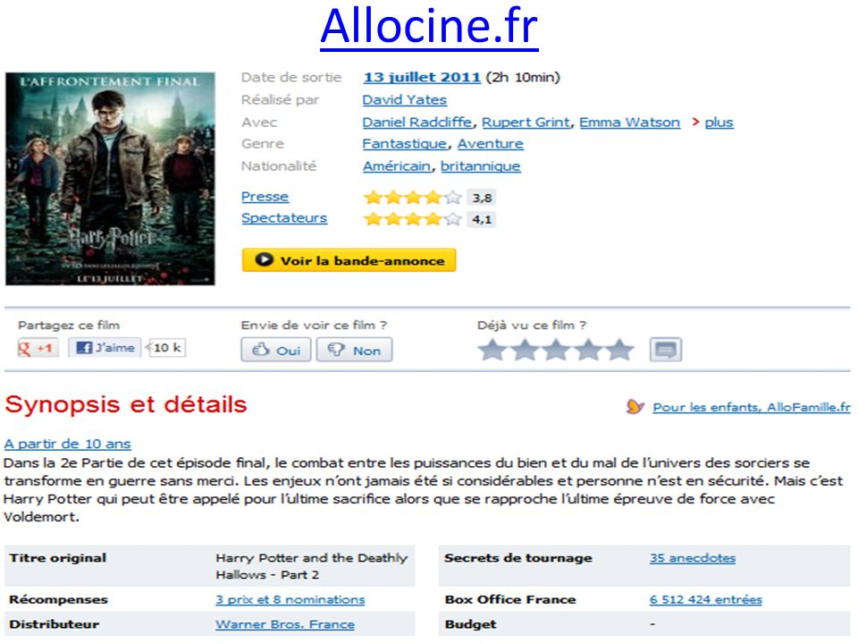 Allocine.fr