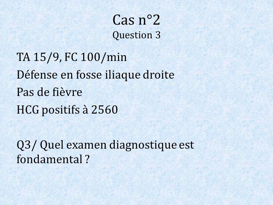 Cas n°2 Question 3