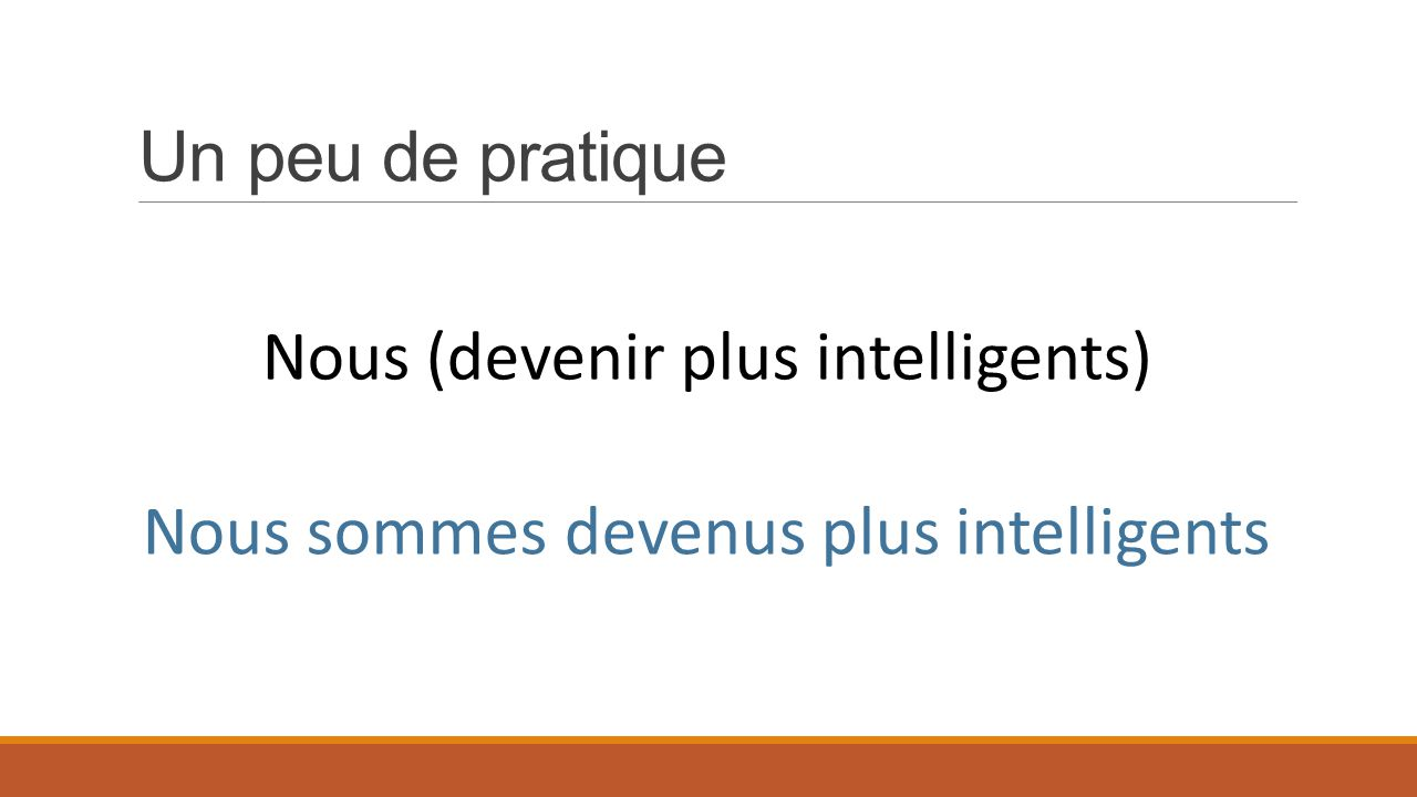 Nous (devenir plus intelligents)
