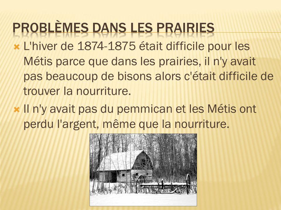 Problèmes dans les Prairies
