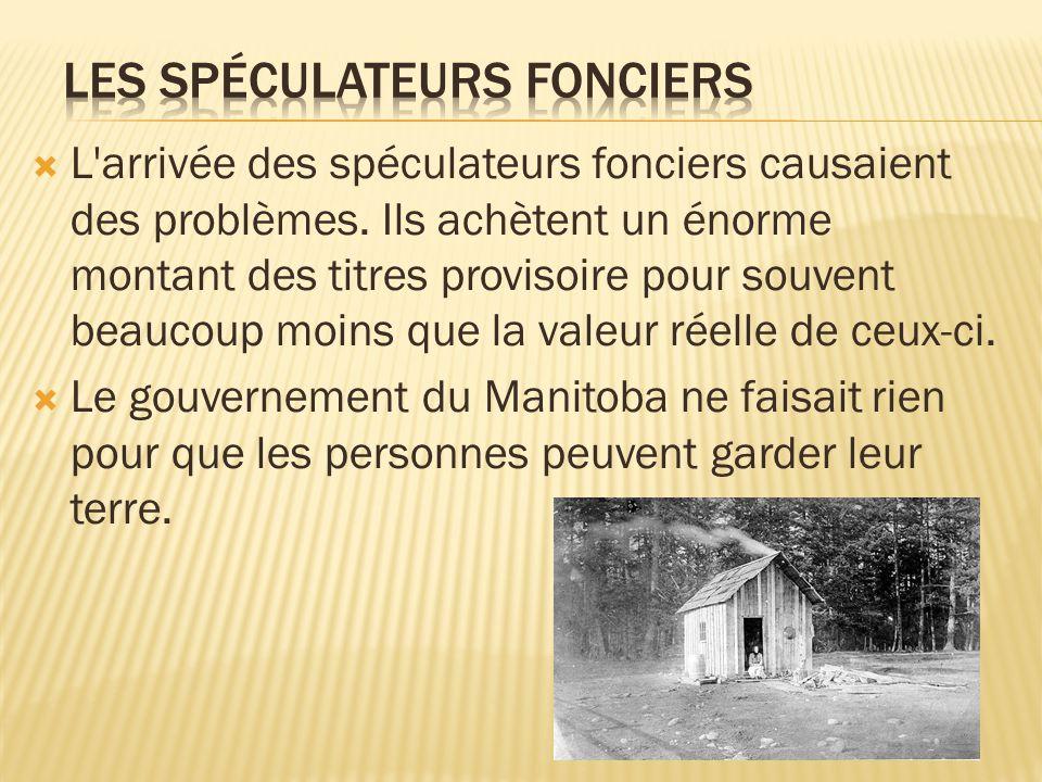 Les Spéculateurs Fonciers