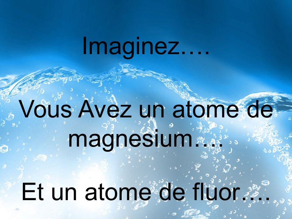 Vous Avez un atome de magnesium….