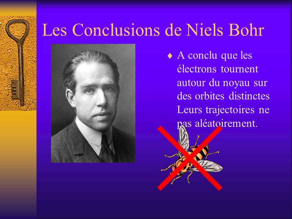 Les Conclusions de Niels Bohr