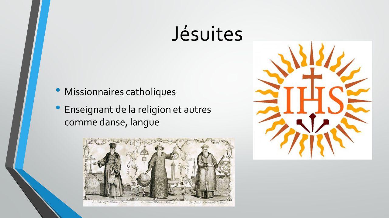 Jésuites Missionnaires catholiques