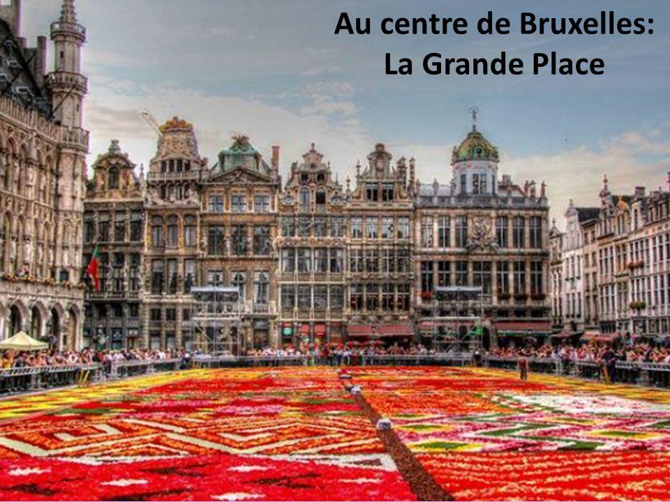Au centre de Bruxelles: