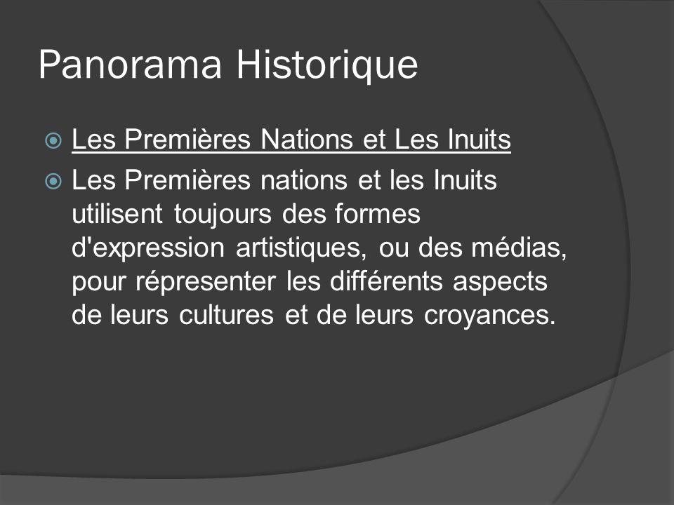 Panorama Historique Les Premières Nations et Les Inuits