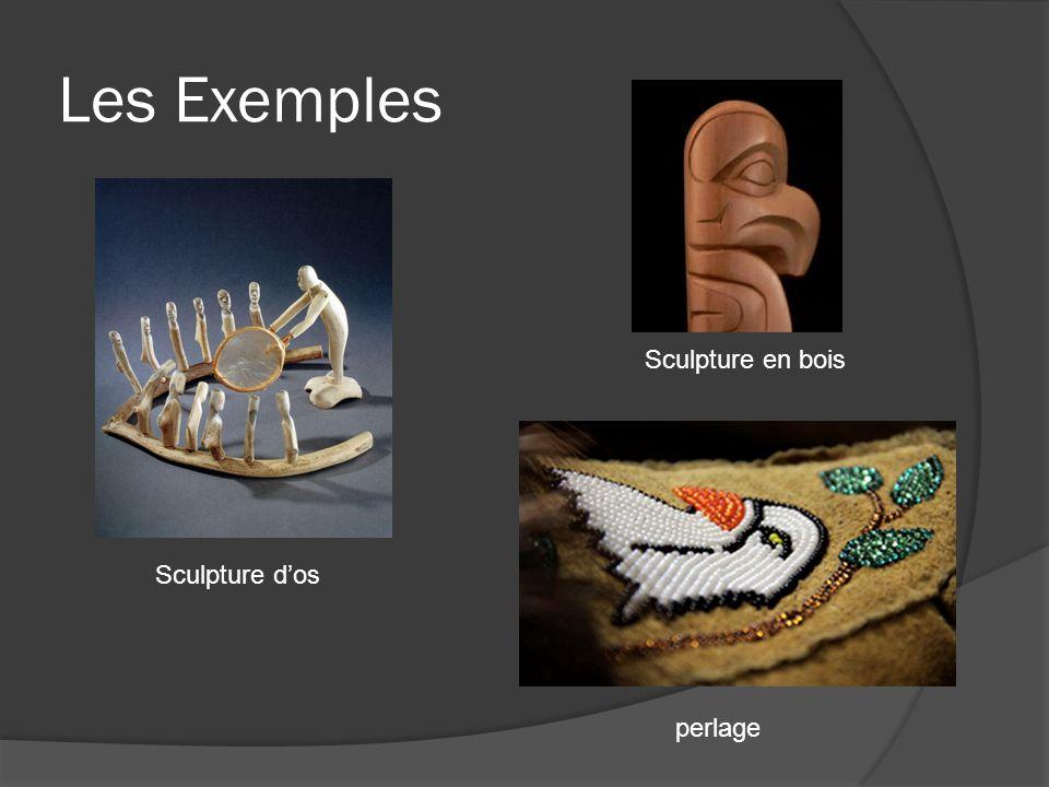 Les Exemples Sculpture en bois Sculpture d'os perlage