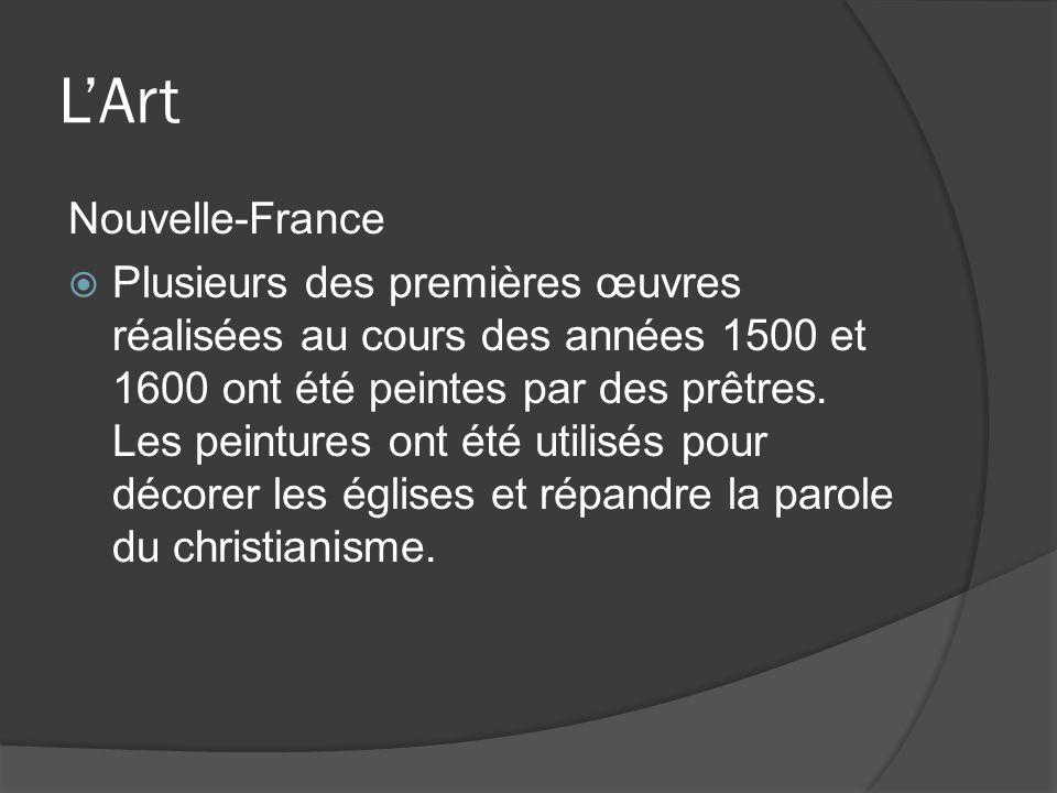 L'Art Nouvelle-France