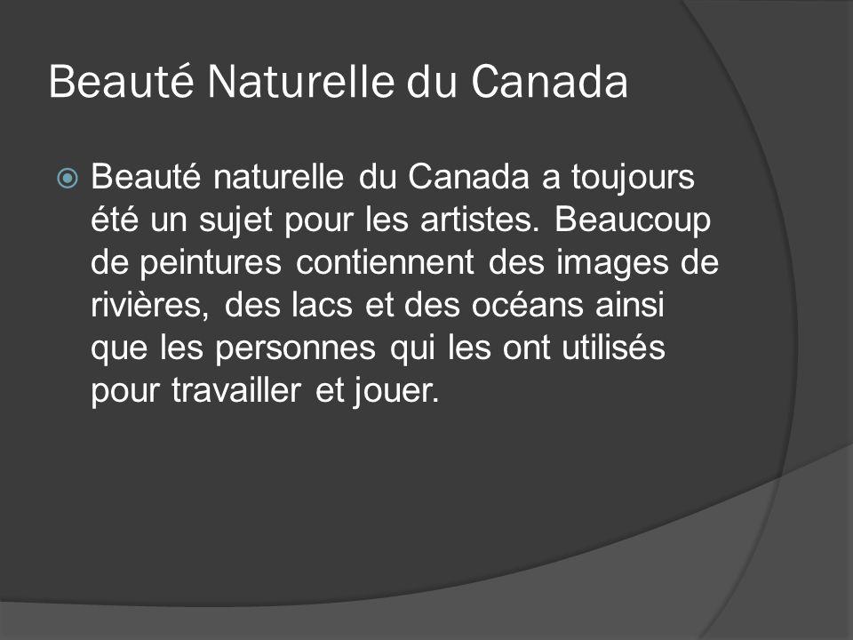 Beauté Naturelle du Canada