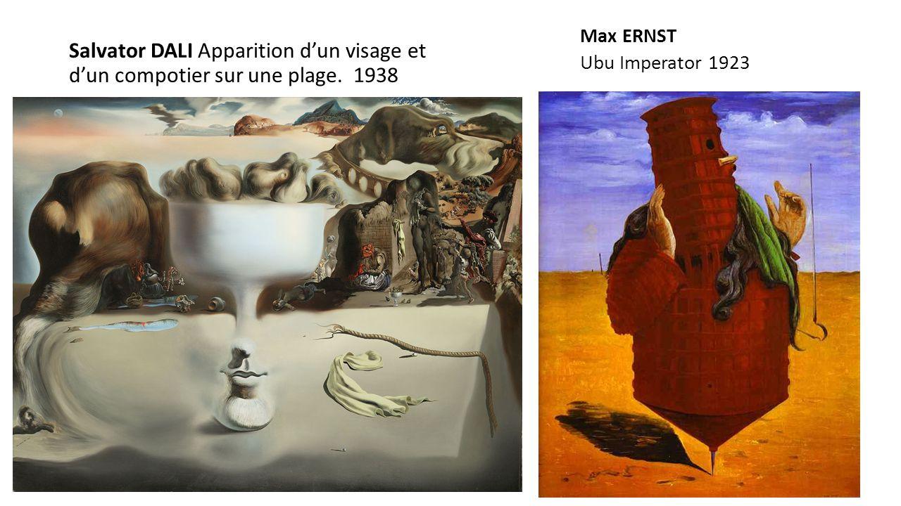 Max ERNST Ubu Imperator 1923.