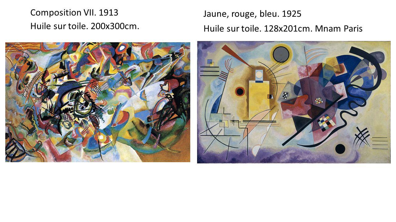 Composition VII. 1913 Huile sur toile. 200x300cm.