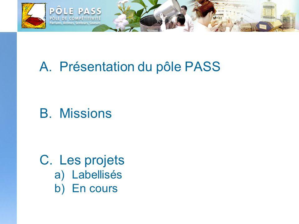 Présentation du pôle PASS