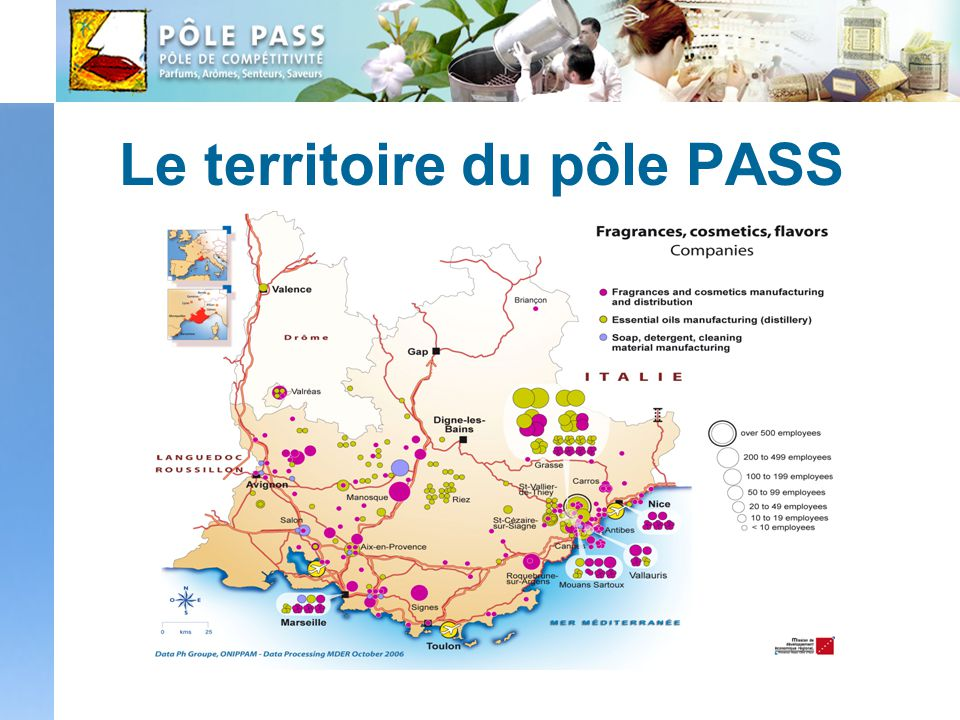 Le territoire du pôle PASS