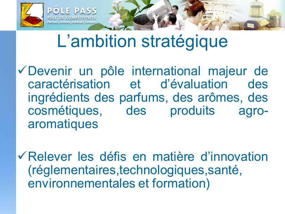 L'ambition stratégique