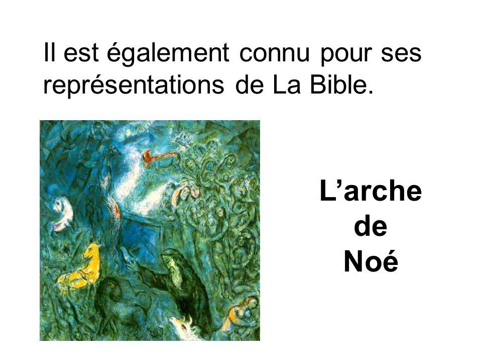 Il est également connu pour ses représentations de La Bible.