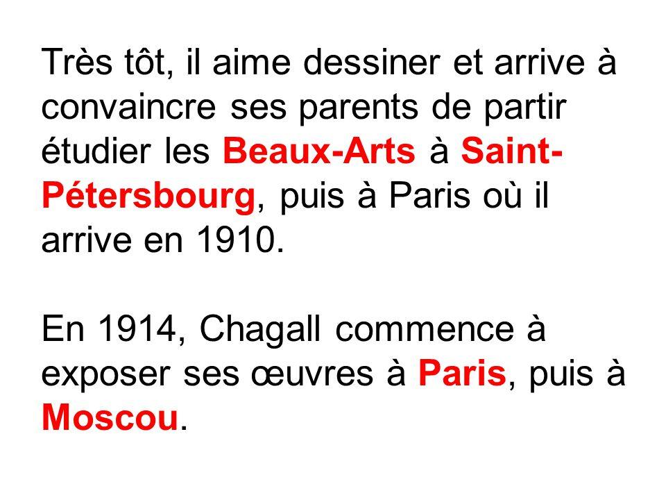 Beliebt Marc Chagall Paris par la fenêtre. - ppt video online télécharger FE32