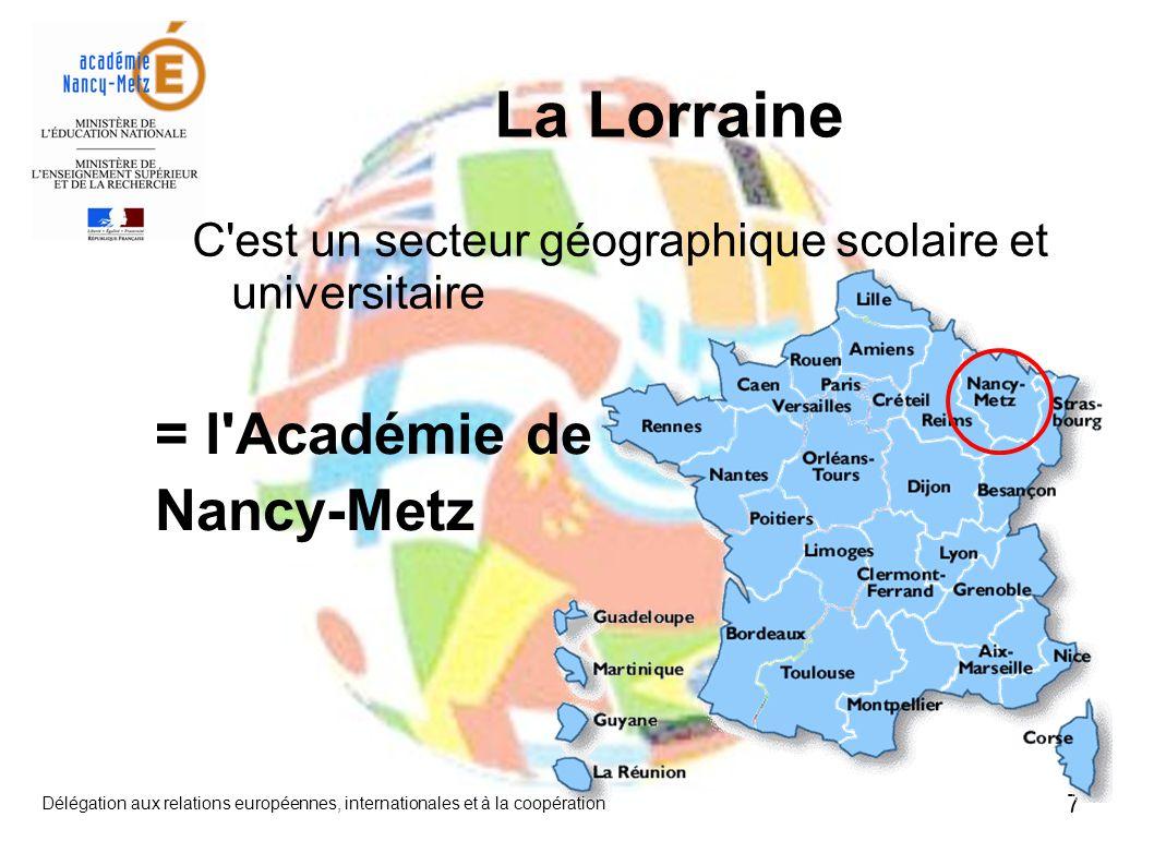 La Lorraine = l Académie de Nancy-Metz