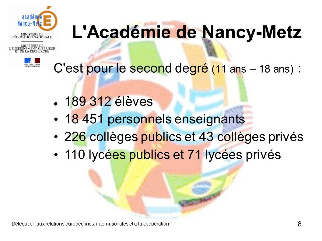 L Académie de Nancy-Metz