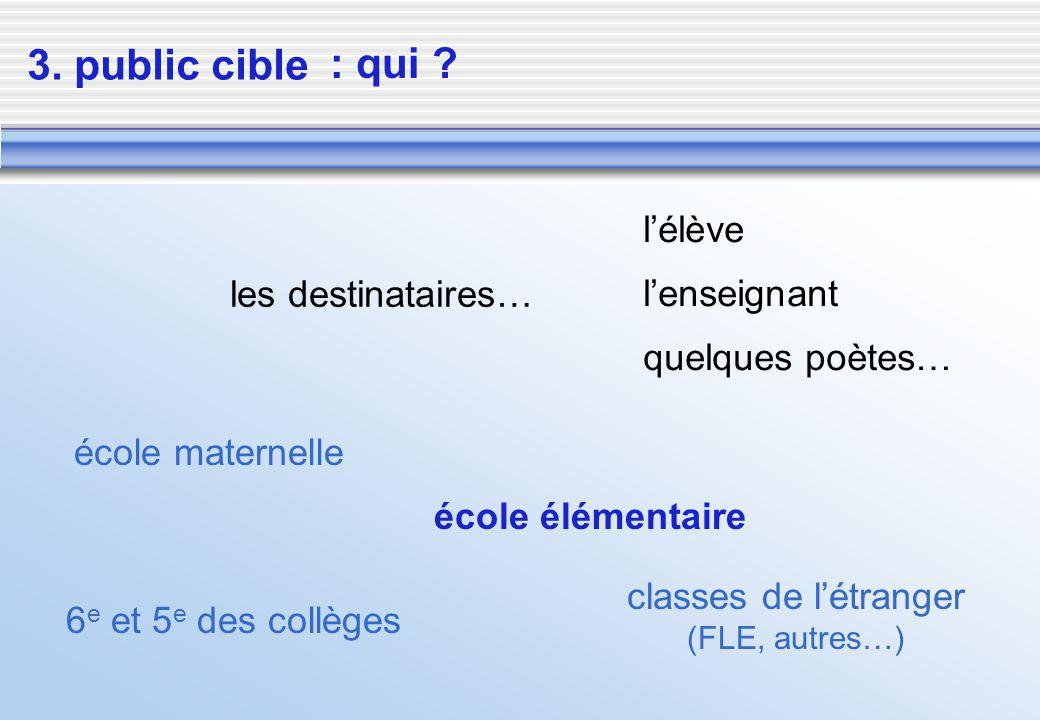classes de l'étranger (FLE, autres…)