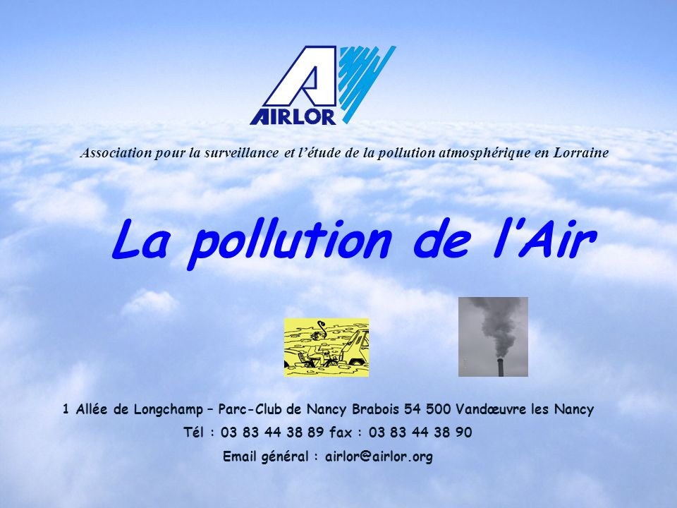 Email général : airlor@airlor.org