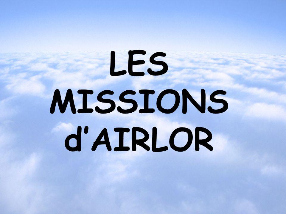 LES MISSIONS d'AIRLOR