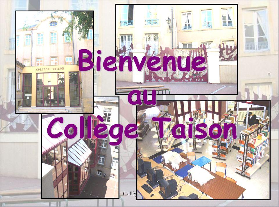 Bienvenue au Collège Taison
