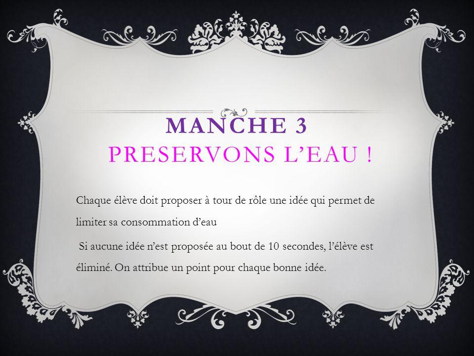 Manche 3 PRESERVONS L'EAU !