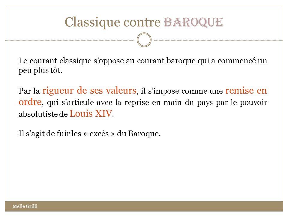 Classique contre Baroque