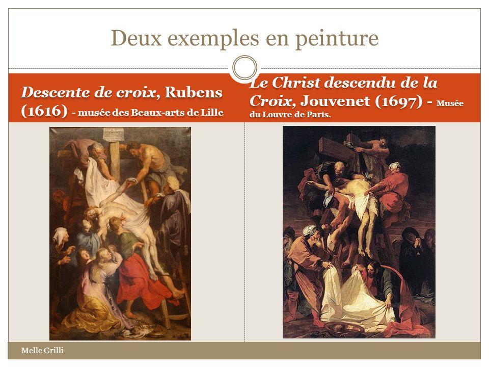 Deux exemples en peinture