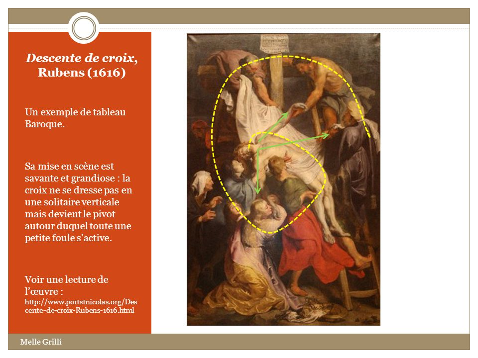 Descente de croix, Rubens (1616)