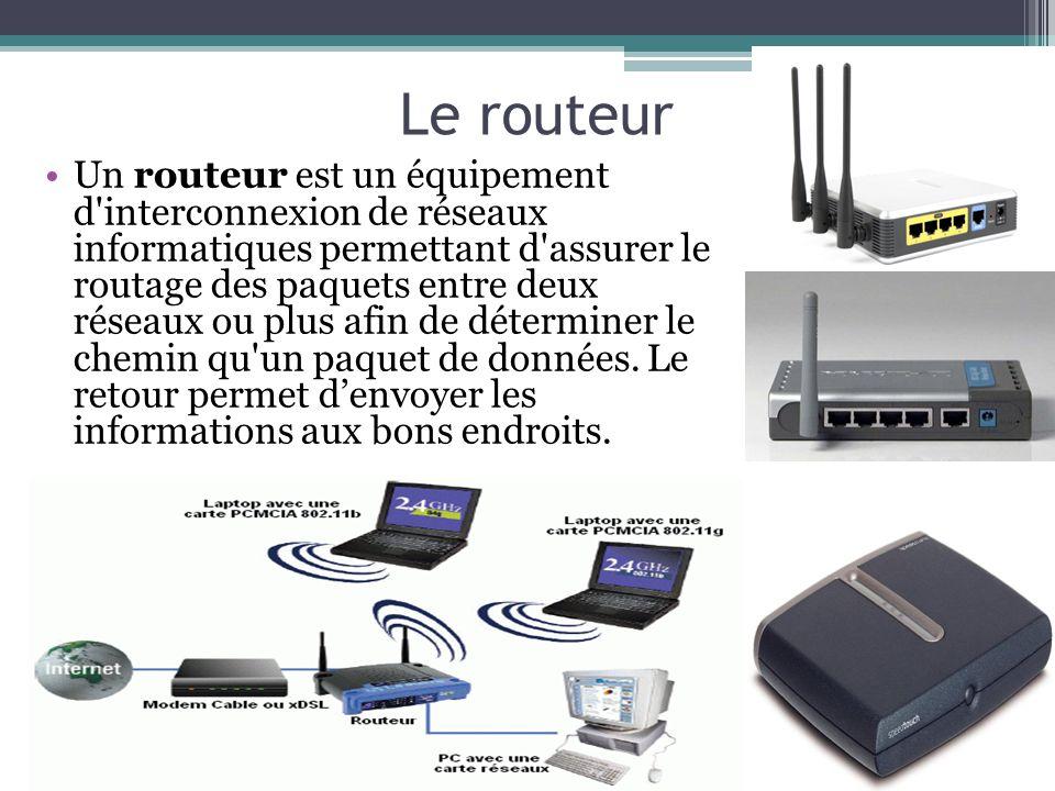 Le routeur