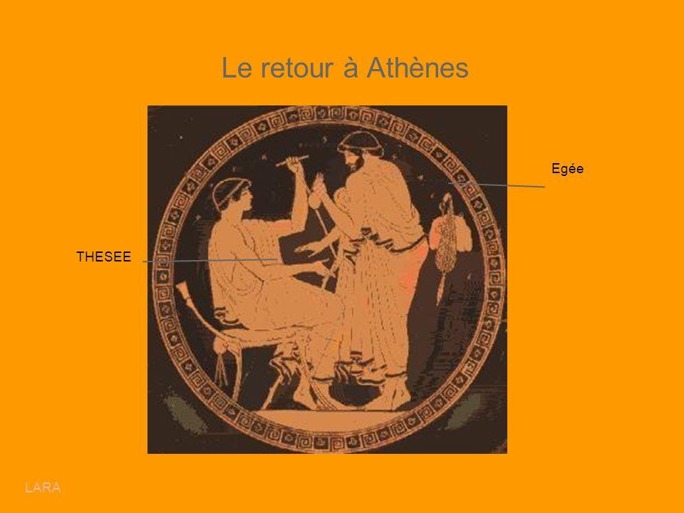 Le retour à Athènes Egée THESEE LARA
