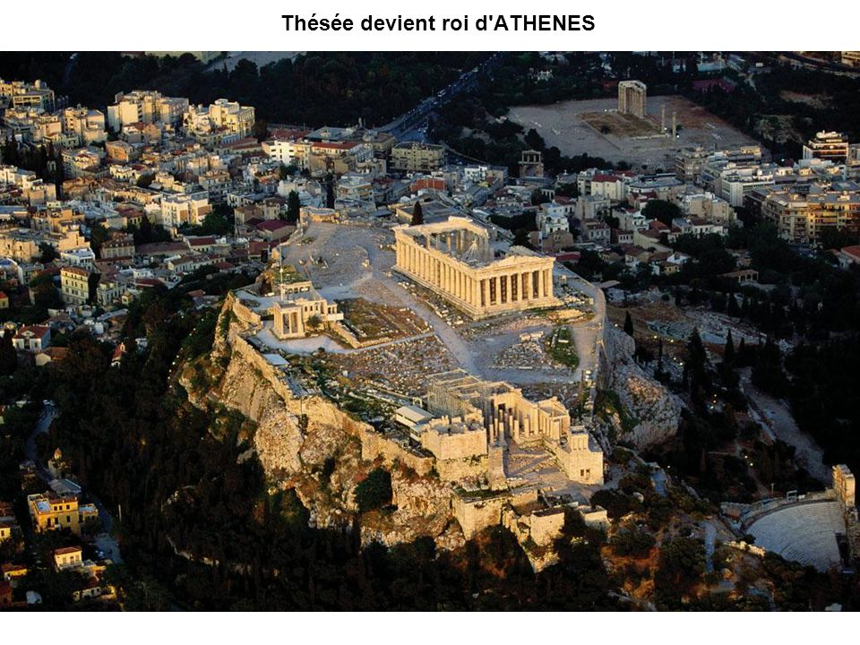 Thésée devient roi d ATHENES