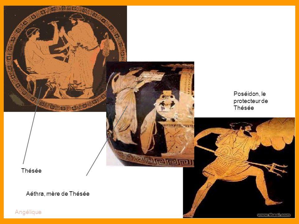 Le fil d Ariane Poséidon, le protecteur de Thésée Thésée