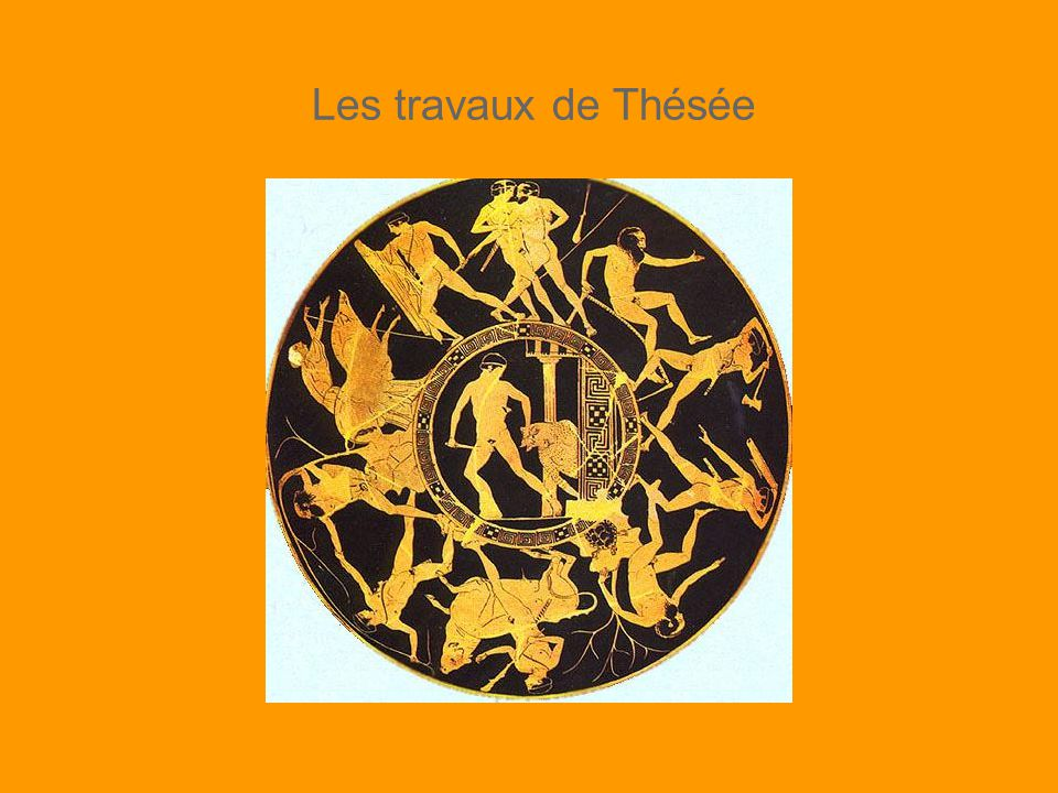 Les travaux de Thésée
