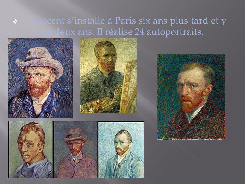 Vincent s´installe à Paris six ans plus tard et y reste deux ans